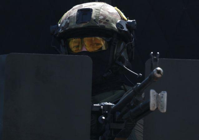 Agente del Servicio Federal de Seguridad (FSB) de Rusia