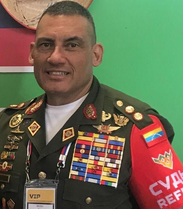General José Gregorio Pérez Malavé Jefe de la Delegación Venezolana para los JMI Rusia 2019