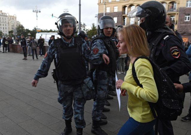 La protesta no acordada en Moscú del 3 de agosto