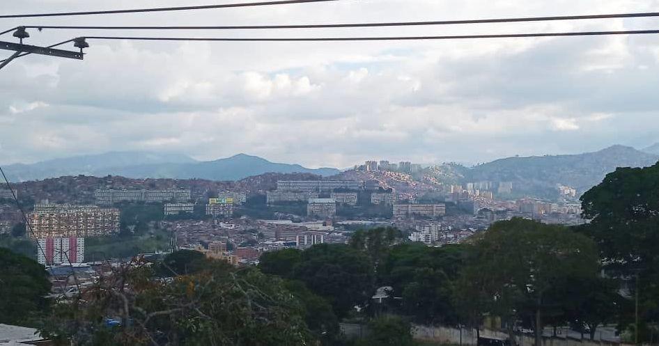 Barrio caraqueño Altos de Lídice, en Venezuela