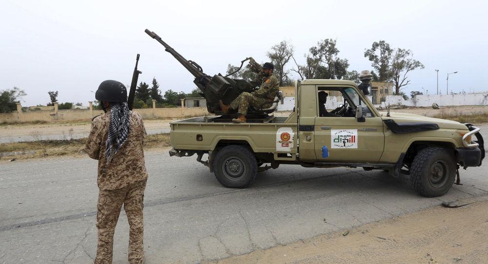 Fuerzas del Gobierno de Unidad Nacional de Libia