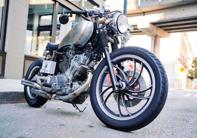 Una moto (imagen referencial)