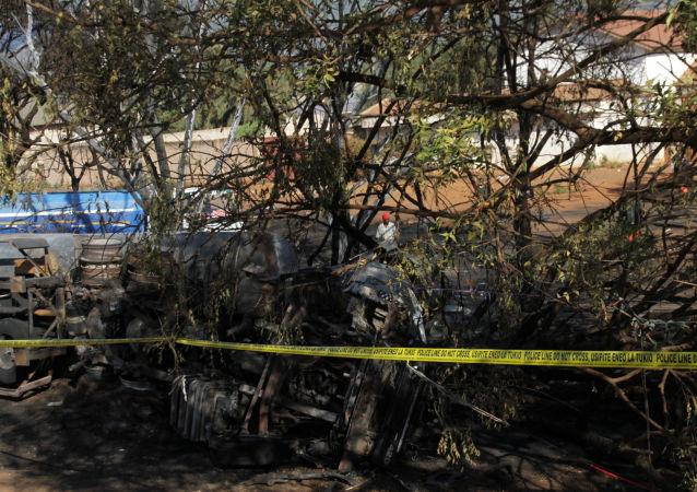 Explosión de un camión cisterna en Tanzania