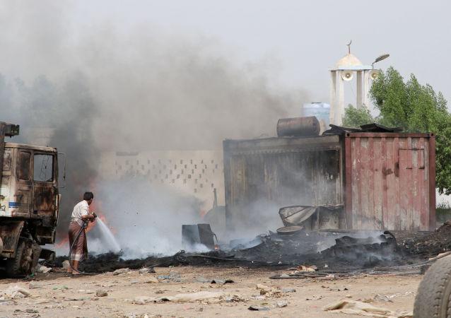 Situación en Adén, Yemen