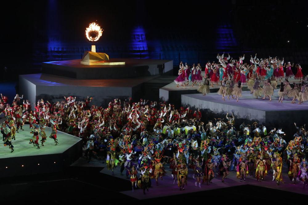 Así fue la colorida ceremonia de clausura de los Juegos Panamericanos de Lima
