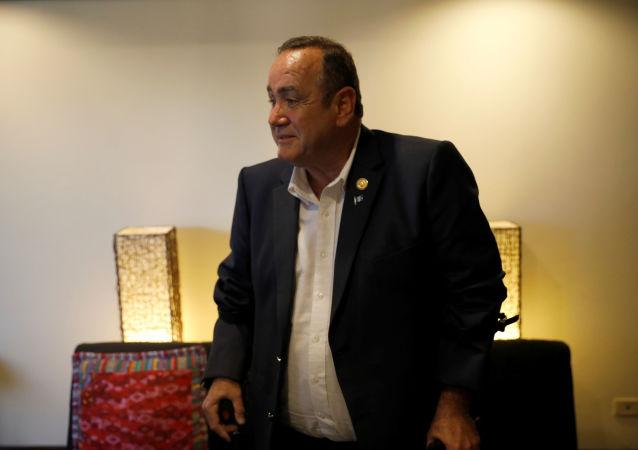 Alejandro Giammattei, presidente electo de Guatemala