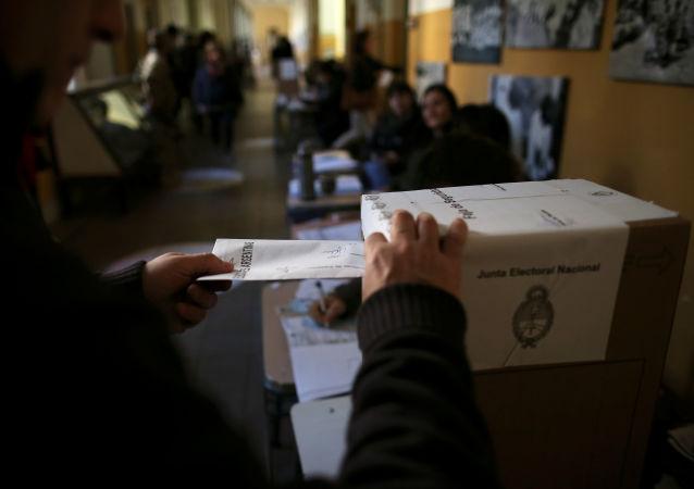 Elecciones generales en Argentina (archivo)