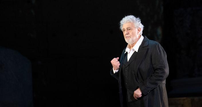 Plácido Domingo, cantante de ópera español