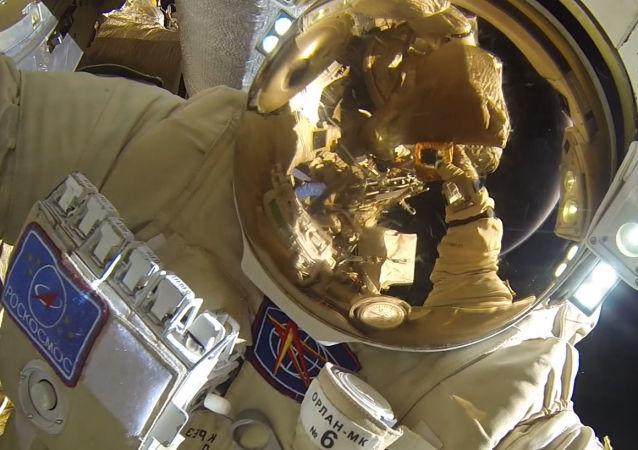 Un cosmonauta ruso (imagen referencial)