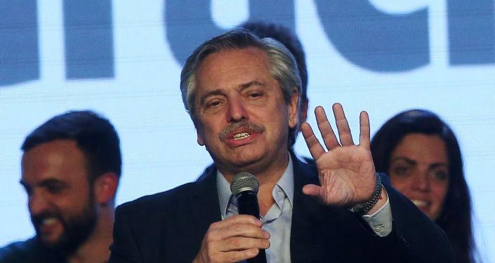 Candidato a la presidencia argentina, Alberto Fernández