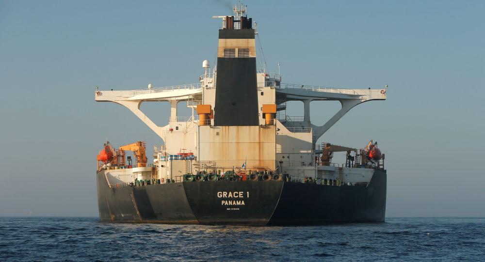 Petrolero iraní Grace 1 en Gibraltar