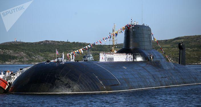 El submarino de la Armada rusa 'Dmitri Donskoy'