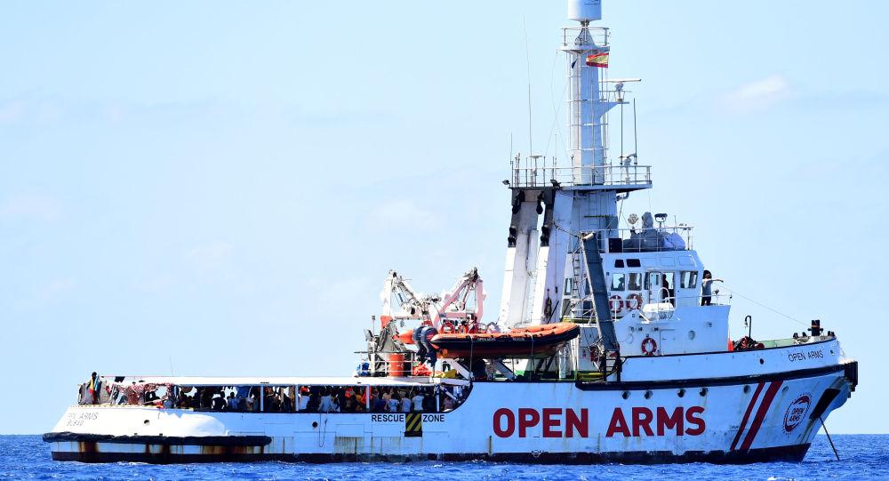 Open Arms, el barco de rescate español