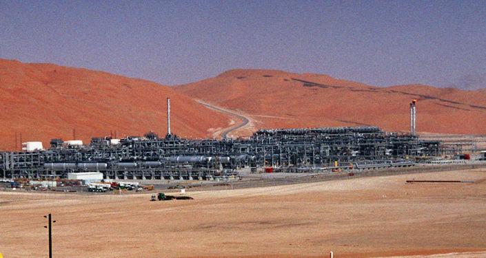 La planta de gas de Shaybah, en Arabia Saudí