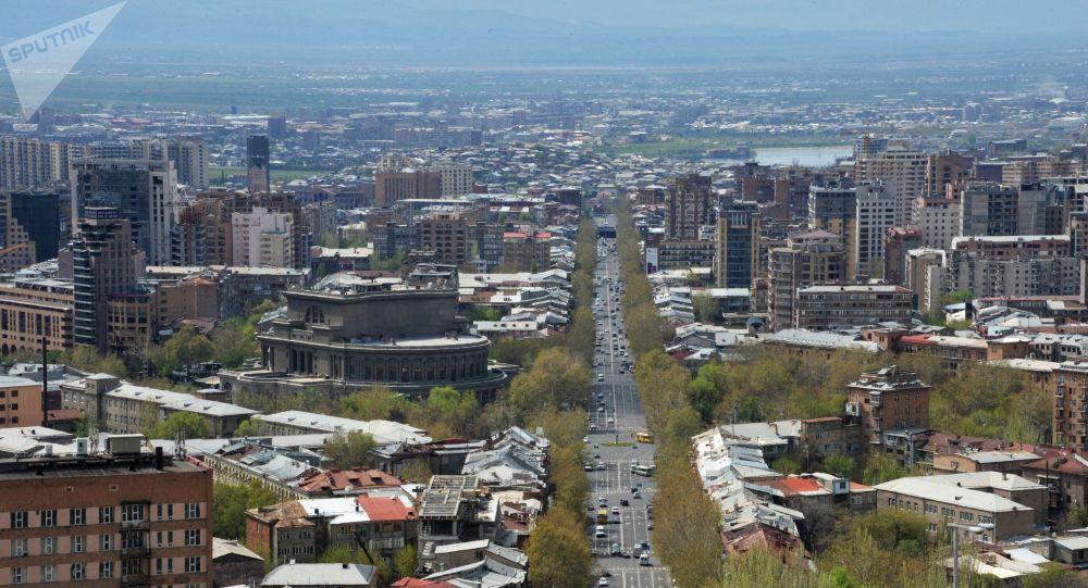 Ereván, capital de Armenia (Archivo)
