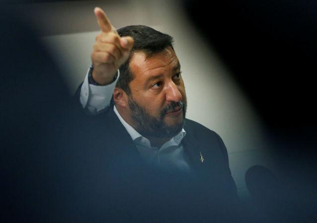 Matteo Salvini, vicepresidente del Gobierno y líder del partido La Liga (archivo)