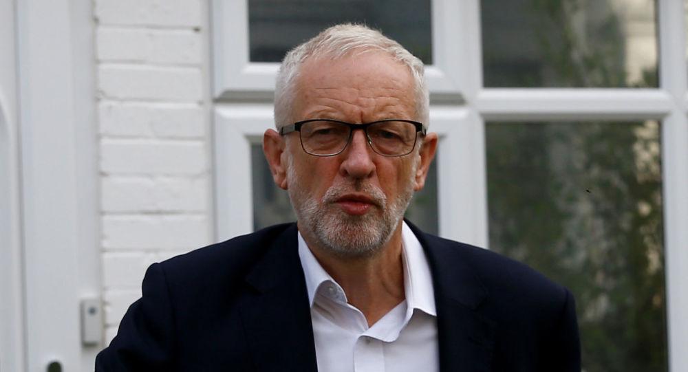 El líder británico de la oposición, Jeremy Corbyn