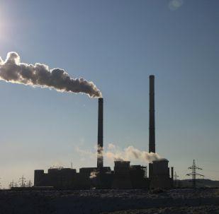 Dióxido de azufre (imagen referencial)