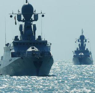 Corbetas ligeras de la Armada de Rusia (archivo)