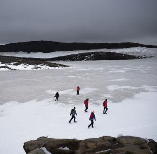La ascensión al volcán Ok en Islandia