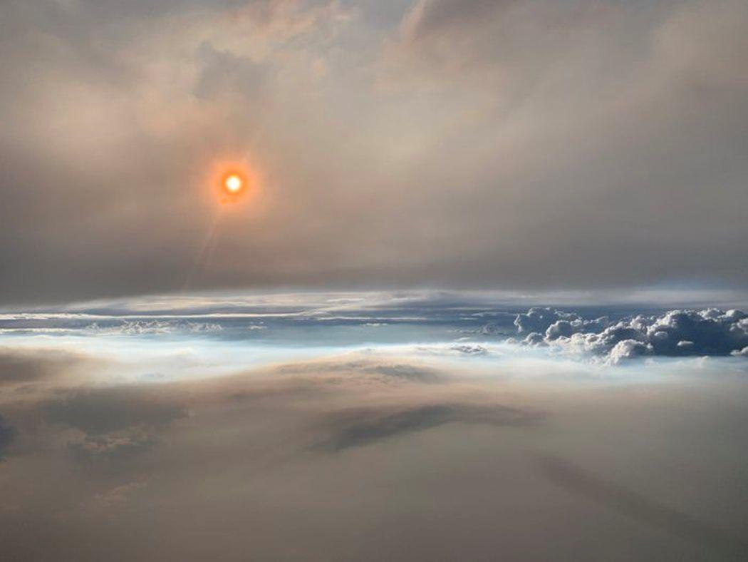 Nube de fuego sobre EEUU