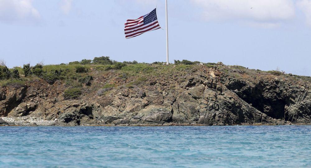 La famosa Isla de las Orgías, propiedad del pedófilo Jeffrey Epstein