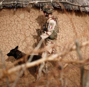 Soldado francés en Mali (archivo)