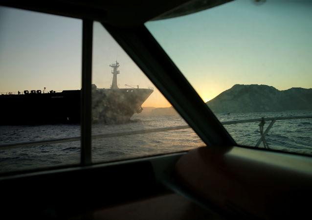 Un barco petrolero iraní (imagen referencial)