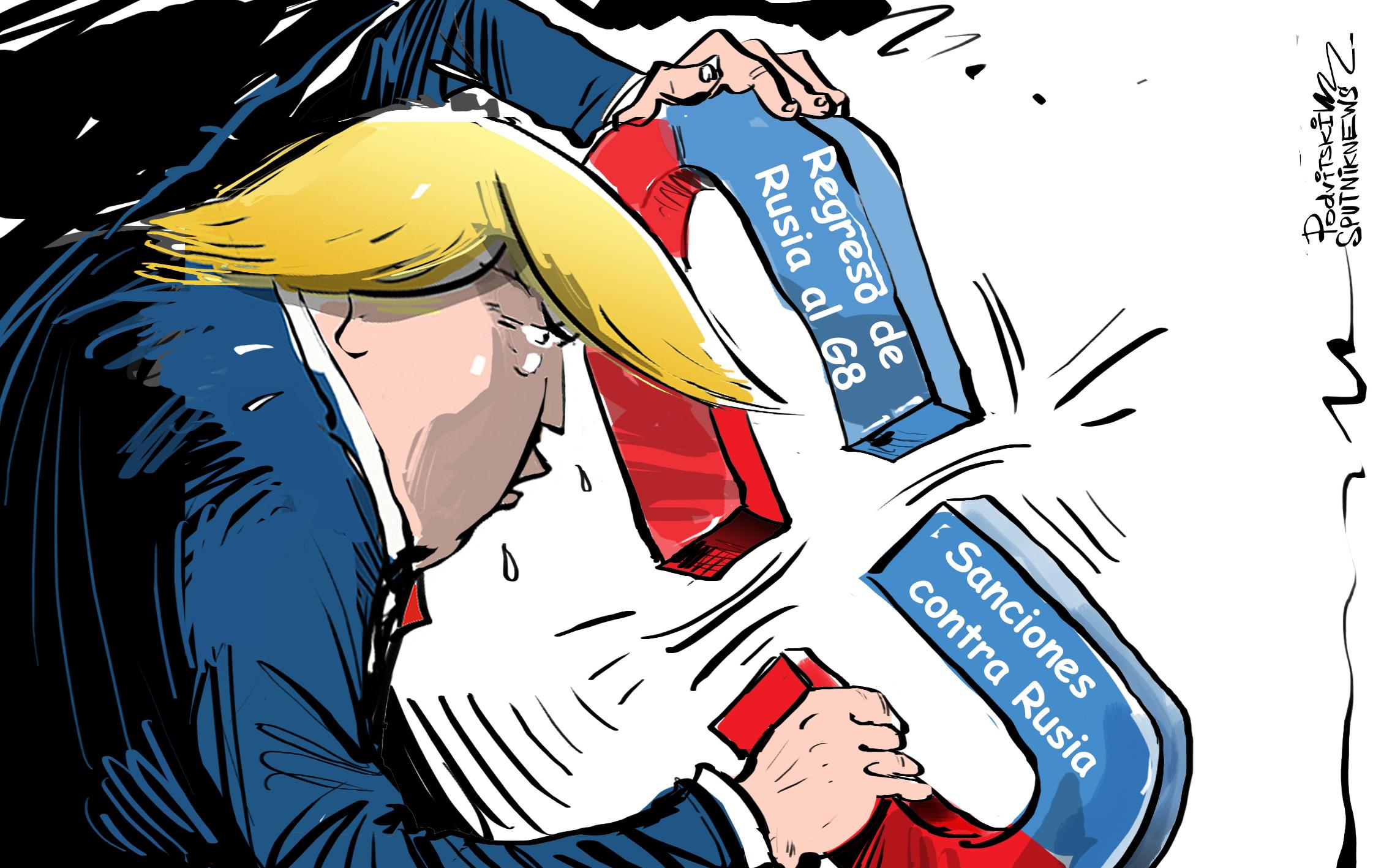 ¿Sanciones o G8? Trump busca la unión de lo 'inunible'