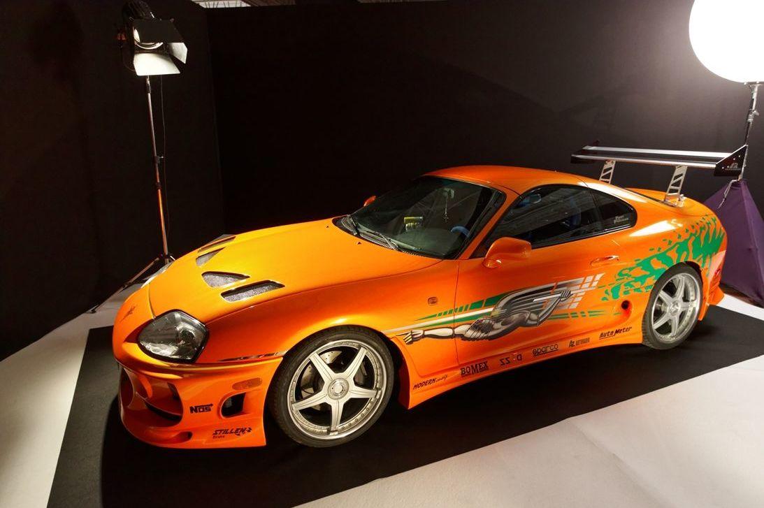 Una réplica del Toyota Supra Mk IV de Fast&Furious