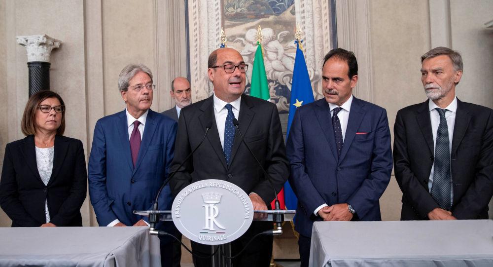 Nicola Zingaretti, líder del Partido Democráta (PD) de Italia