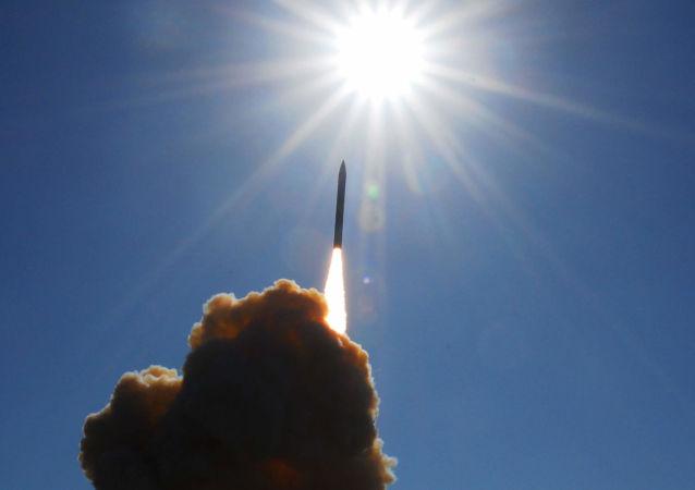 Prueba de la defensa antimisiles de EEUU