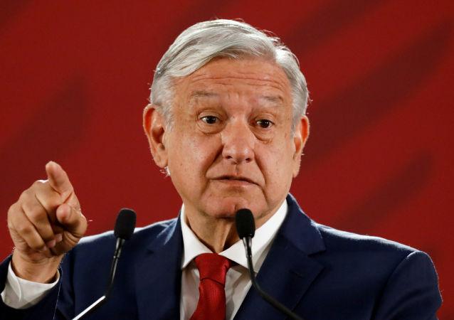 Presidente de México Andrés Manuel Lopez Obrador