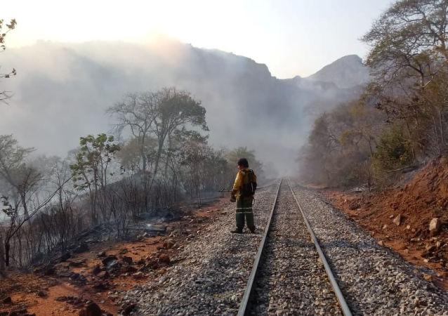 Incendios forestales en Bolivia