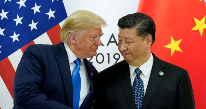 Donald Trump, presidente de EEUU, y Xi Jinping, presidente de China (archivo)