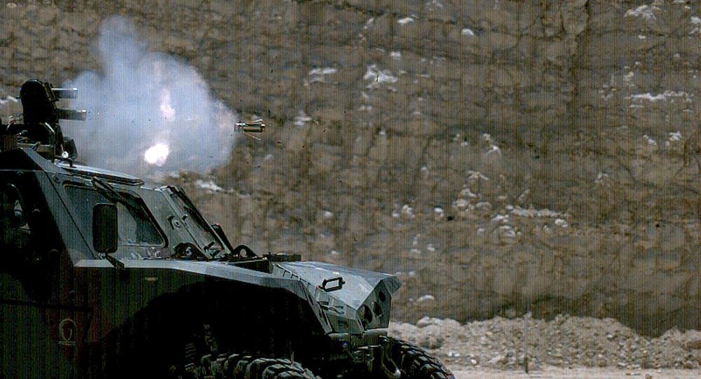 El sistema de protección activa israelí Iron Fist APS en acción