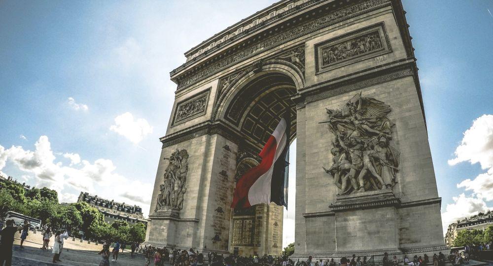 El Arco de Triunfo de París, Francia