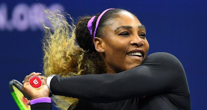 La tenista estadounidense Serena Williams