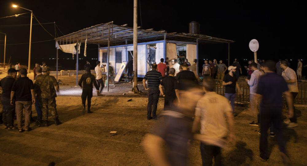 La situación en la Franja de Gaza tras la explosión