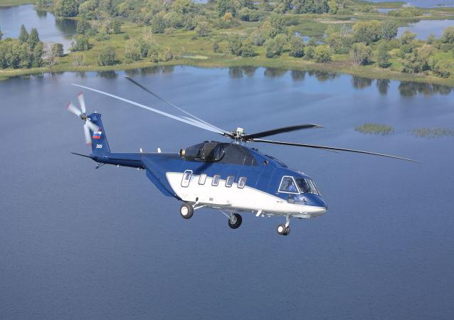 El helicóptero Mi-38