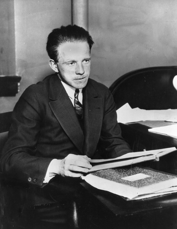 Werner Heisenberg, el físico alemán que intentaba inventar la bomba nuclear