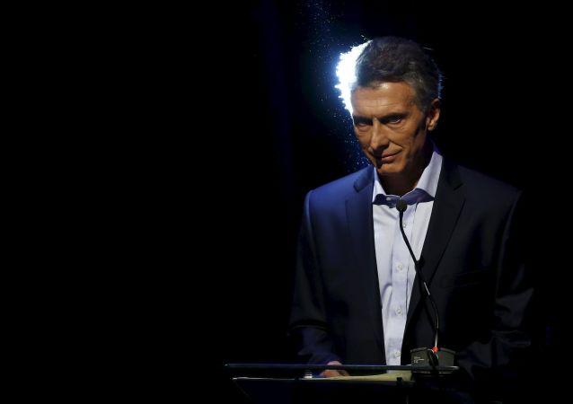 Mauricio Macri, candidato opositor