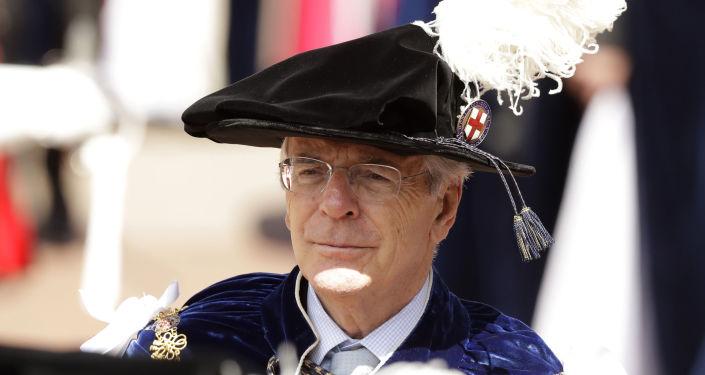 El ex primer ministro británico, John Major