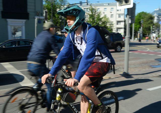 Un ciclista