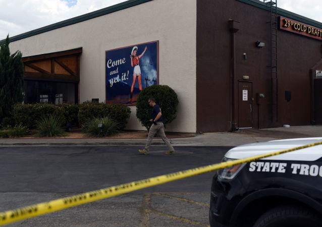 Lugar del tiroteo en Odessa, Texas