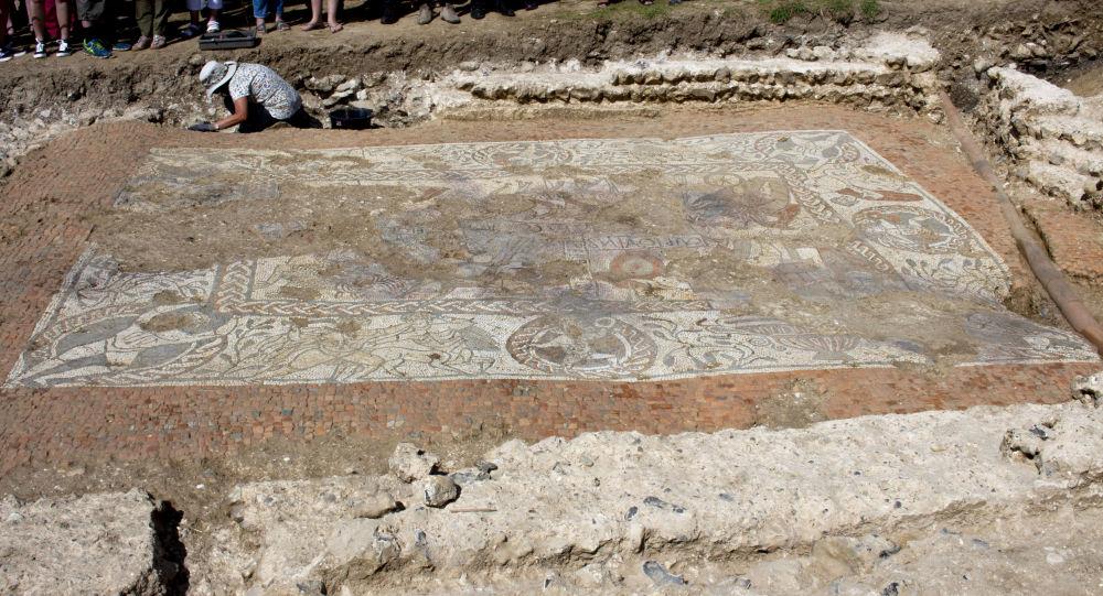 El mosaico romano de Boxford