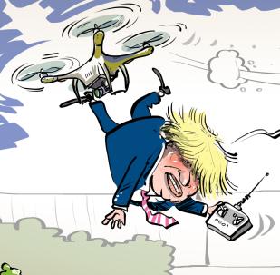 Boris Johnson se preocupa por la seguridad del golfo Pérsico… a su manera