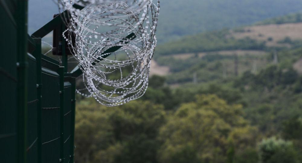 En la frontera de Osetia del Sur