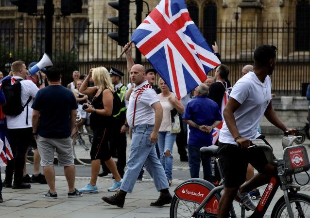 Las protestas contra el Brexit en Londres