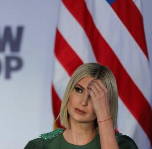 Ivanka Trump, hija del mandatario Donald Trump en Bogotá